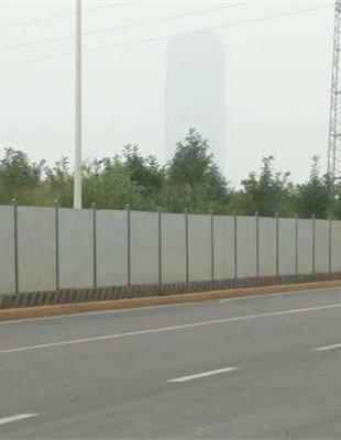 雅安道路彩钢围栏